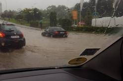 Cluj-Napoca, din nou sub ape. Traficul a fost paralizat – FOTO