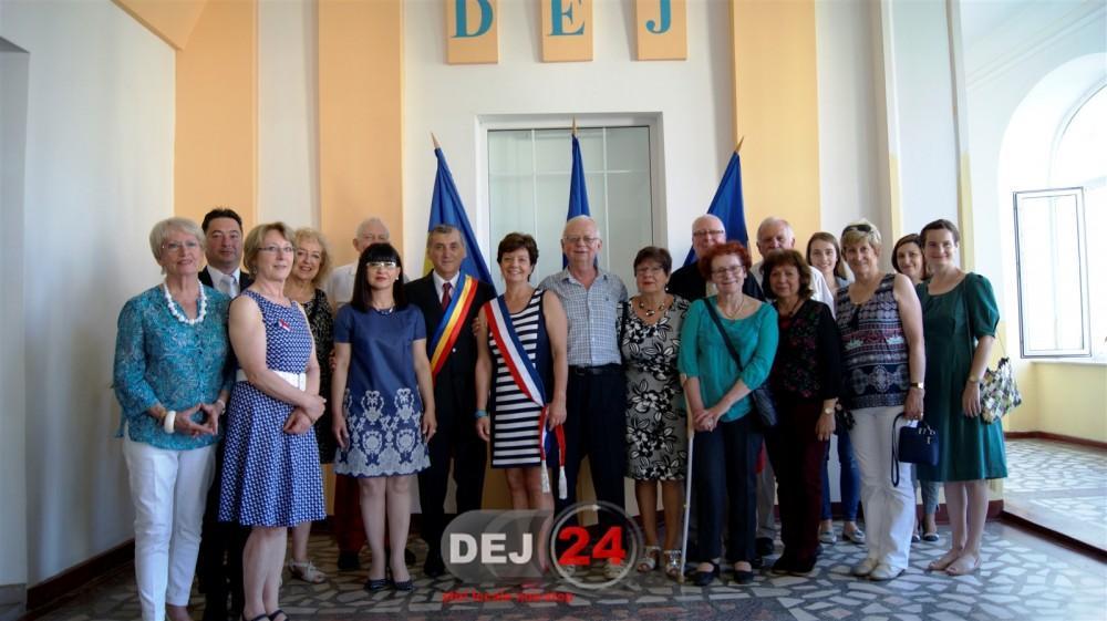 Delegaţie din Le Quesnoy în vizita la Primăria Dej (4)