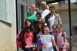 Elevi din Chiuiești, locul III la un concurs școlar desfășurat la Dej – FOTO