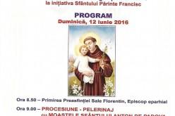 """Procesiune-Pelerinaj, duminică, la hramul Bisericii """"Sfântul Anton"""" din Dej"""