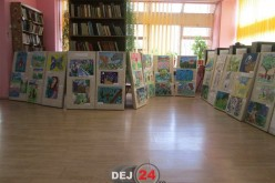 Salonul Anual de Desene ale Copiilor, ieri, la Dej – FOTO