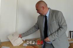 ALEGERI LOCALE Dej | Sebastian Lazin (PMP) și-a exercitat dreptul la vot – FOTO/VIDEO