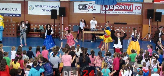 Ziua Copilului la Dej, marcată printr-o mega-petrecere pentru cei mici – FOTO/VIDEO