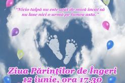 """""""Ziua Părinților de Îngeri"""" va fi marcată, în curând, și la Dej"""