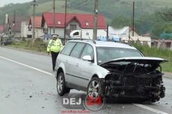 GRAV ACCIDENT în Apahida! Două persoane au ajuns la spital