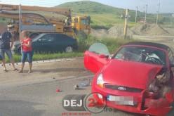 Accident cu trei autovehicule implicate, în Apahida – FOTO
