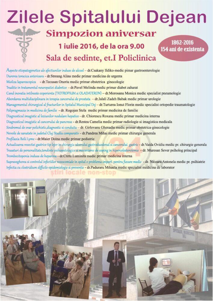 simpozion spital Zilele Spitalului Dejean