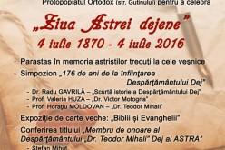 """INVITAȚIE: Despărțământul """"Dr. Teodor Mihali"""" Dej al ASTRA împlinește 176 de ani de la înființare"""