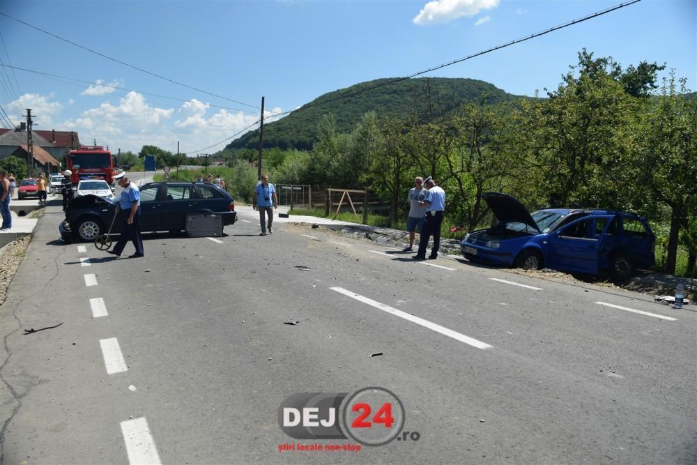 Accident Dej strada Somcutului Viile Dejului (3)