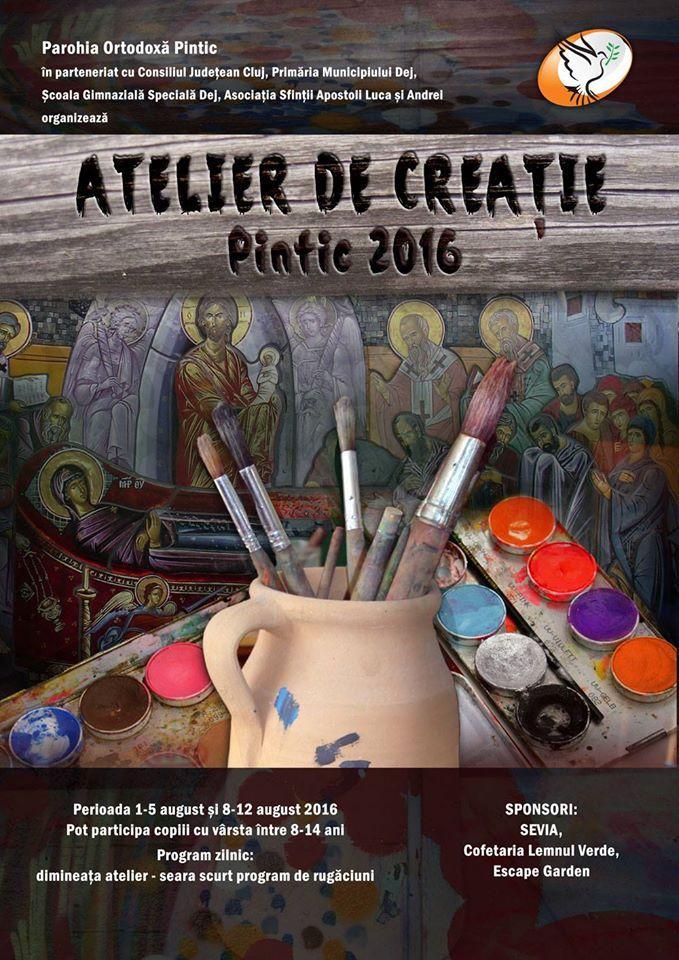 Asociatia Sfintii Apostoli Luca si Andrei atelier de creatie Pintic SALA