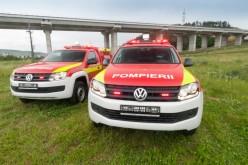 Autospecială de intervenție rapidă, în dotarea Detașamentului de Pompieri Dej – FOTO