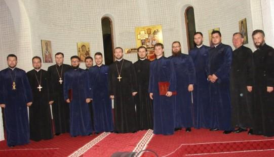 "Corala Armonia a revenit la Parohia ""Sfântul Ierarh Nectarie"" din Dej – FOTO"