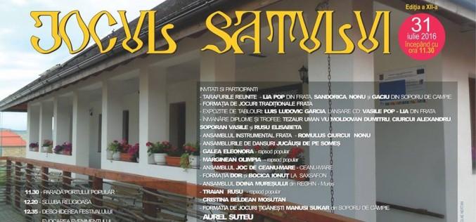 Duminică, zi de sărbătoare pentru fiii satelor Frata și Cătina