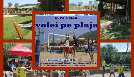 Turneu regional de beach volei, duminică, la Mănăstirea
