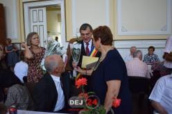 """""""Nunţile de aur"""" celebrate la Primăria Municipiului Dej – FOTO"""