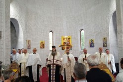 """Cerc preoțesc în Dej. Părintele Paisie, invitat în """"Parohia Sf. Ierarh Nectarie"""" – FOTO"""