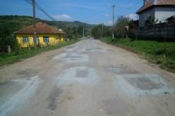 Drumul județean 172A Țaga – Habadoc a intrat în reabilitare