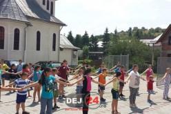 60 de copii din Protopopiatul Dej, în tabără la Sângeorz-Băi – FOTO
