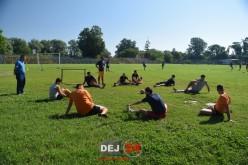Primul antrenament pentru voleibaliștii Unirii Dej. Lazăr și-a (re)cunoscut elevii – FOTO/VIDEO
