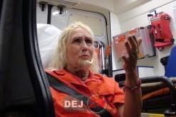 """Dej – """"Celebra"""" ROSA, tăiată la gât de partenerul de viață – FOTO/VIDEO"""