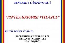 """Serbarea câmpenească """"Pintea Grigore Viteazul"""", în curând, la Chiuiești"""