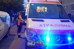 Accident pe strada Unirii din Dej. Un minor a ajuns la spital – FOTO/VIDEO