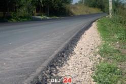 Asfaltări la foc continuu în județul Cluj. Multe drumuri sunt situate și în apropiere de Dej