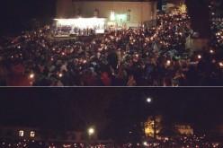 Noapte de rugăciune pentru zeci de mii de pelerini, la Mănăstirea Nicula – FOTO/VIDEO