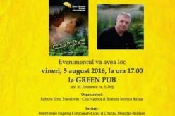 Poetul Sandu Cătinean își prezintă la Dej cel mai recent volum de poezii