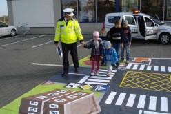 GHERLA | Lecție interactivă de circulație rutieră, mâine, în parcarea Lidl
