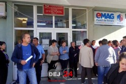 Poșta din Dej rămâne închisă, GREVA GENERALĂ continuă!