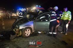 GRAV ACCIDENT pe DN1C, la intrare în Bunești dinspre Dej! ȘAPTE persoane au fost rănite – FOTO/VIDEO