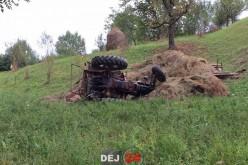 Tractoristul implicat ieri în accidentul de la Batin a DECEDAT