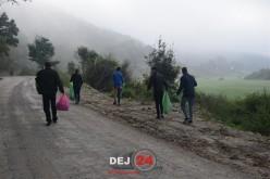 O mână de elevi din Dej, front comun împotriva gunoaielor – FOTO/VIDEO