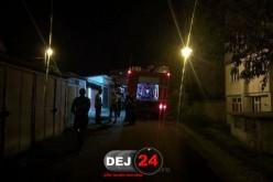 Alertă de INCENDIU în Dej. Un transformator defect a pus pompierii pe drum – FOTO