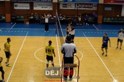 3/3 – Unirea Dej a pierdut și cu Volei Club Caransebeș, dar a obținut un punct – VIDEO