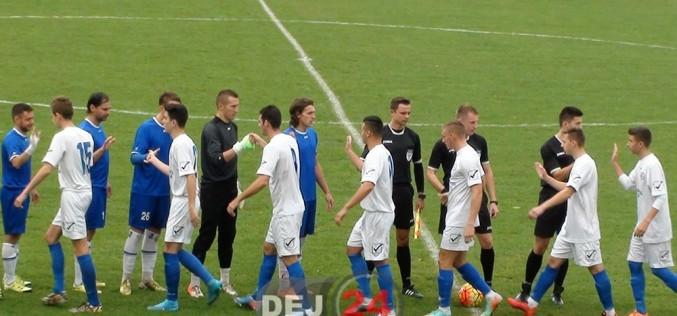 S-a întrerupt seria rezultatelor bune. FC Unirea Dej, 0-4 cu CS Oșorhei