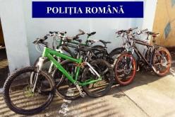 Hoți de biciclete din Gherla și Sântioana, identificați de polițiști. Un tânăr a fost reținut – FOTO