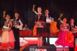 Noi rezultate excelente obținute de dansatorii dejeni – FOTO