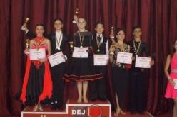 """Rezultate deosebite pentru Clubul de Dans Sportiv """"LATINO ANGELS"""" Dej – FOTO"""