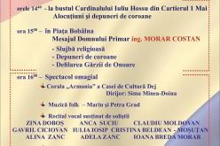 Ziua Națională a României, sărbătorită din nou la Dej. Vezi programul manifestărilor