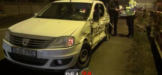ACCIDENT în Dej! Trei autovehicule au fost serios avariate – FOTO/VIDEO