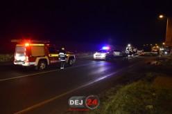 ACCIDENT în Dej! Un autoturism a fost serios avariat – FOTO/VIDEO