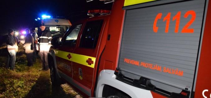 EROU și în timpul liber! Pompier clujean, primul ajutor unei persoane rănite în urma unui accident
