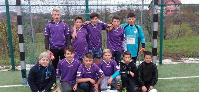 Echipa Şcolii Gimnaziale Chiuieşti, locul III la Olimpiada Gimnaziilor fotbal-băieţi – FOTO