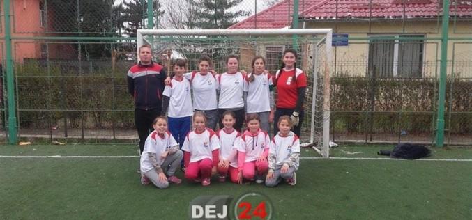 Echipa Şcolii Gimnaziale Chiuieşti, LOCUL I la Olimpiada Gimnaziilor, fotbal (fete) – FOTO