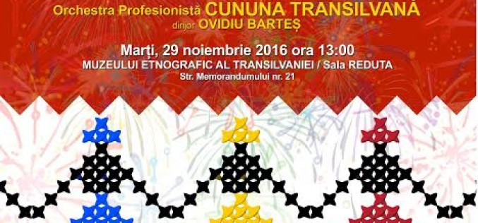 Artiștii dejeni urcă pe scena unui spectacol folcloric dedicat Zilei României, la Cluj