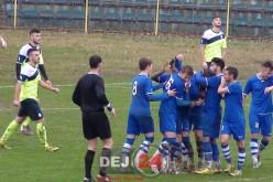 FOTBAL – Unirea Dej, victorie la MASA VERDE cu FC Bistrița