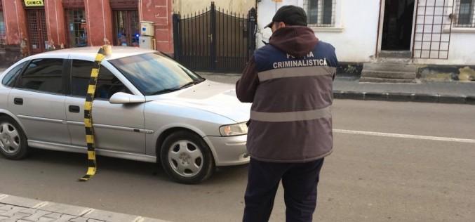 Accident în Dej. Bătrânel acroșat de o mașină condusă de un șofer băut – FOTO