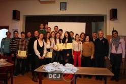 """Concurs pe tema Marii Uniri la Liceul Tehnologic """"Constantin Brâncuși"""" Dej – FOTO"""
